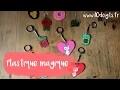 Plastique fou : Fabriquer un porte-clés et des bijoux (DIY / Tutoriel vidéo 10 Doigts)