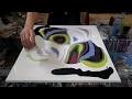 Peinture Fluide - Explications - Technique MelyD Style