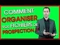 Prospection commerciale : Comment créer un FICHIER CLIENT et organiser son CRM ?