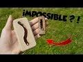 FABRIQUER UN OBJET IMPOSSIBLE ?!
