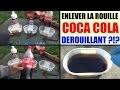 coca cola : retirer la rouille, dérouiller how to  remove rust with coke