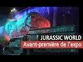 Les Dinosaures de Jurassic World débarquent à Paris - Vidéo exposition YouTube
