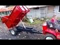 Remorque pour micro tracteur