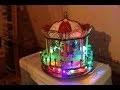 Unboxing , test et commentaires carrousel pour village de Noël du Cora