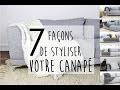 INSPIRATION | 7 façons de redonner du style à votre canapé avec un plaid