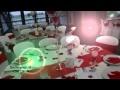 Abm décoration - Thème Mariage Rouge et Blanc