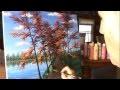 Peindre Paysage D'Automne Rapidement Acrylique Toile