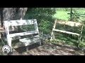 Comment fabriquer un banc Léopold - Projet en bois pour le jardin !
