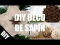 DIY DECO SAPIN DE NOEL français