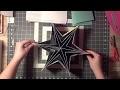 [SCRAP] Tutoriel Mini album étoile - Aurélia SCRAP