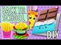 DIY BACK TO SCHOOL KAWAII NOURRITURE