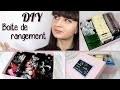 DIY Rangements pour thé bijoux maquillage