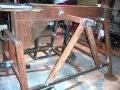 Construction détaillée d'une fendeuse horizontale