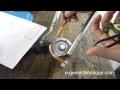 Plomberie14-Technique de cintrage d'un tube cuivre recuit avec une cintreuse-circuit frigorifique