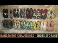 🛠 Rangement Chaussures DIY : Fabrication d'un support mural pour 16 paires de godasses