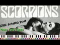 Jouer SCORPION - STILL LOVING YOU (Piano tuto facile)