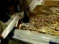 Technique des feuilles d'or