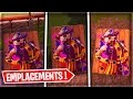 DÉFIS : EMPLACEMENT DES 3 TABLEAUX DE CLOWN SUR FORTNITE ! (Semaine 9)