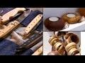 Tourneur sur bois, coutelier : portraits d'artisans d'exception