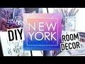 DIY NEW YORK Facile : Deco Chambre / Back To School (français)