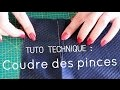 Tuto couture - Coudre une pince