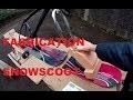Comment fabriquer un snowscoot /fabrication / tuto