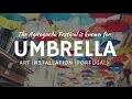 Portugal: Parapluies aux couleurs artistiques