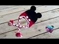 Bonnet Mickey Mouse crochet facile/ Mickey Mouse beanie crochet (english subtitles)