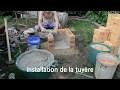Comment faire de l'acier : Montage du four