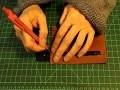[TUTO CUIR #4]  Fabriquer un  portefeuille en cuir