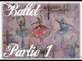 Tableau Danseuses Ballerines PARTIE 1