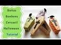 Comment faire des Boites Cercueil pour Halloween  Tutoriel