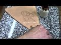 Tutoriel cuir : préparation d'une chape de baudrier de rapière en cuir végétal