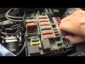 Peugeot 206 : Comment changer un fusible