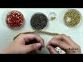 Vidéo tutoriel Fr.pandahall.com- Comment faire un collier de perles pour l'automne