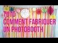 Comment faire un photobooth pour mariage en crépon