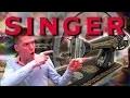 MACHINE A COUDRE SINGER 1922 | ENTRETIEN & REVISION
