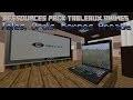 Présentation Pack De Textures Tableaux Animés : Edition Hight Tech