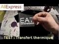 [REVIEW] Transfert thermique sur T-shirt logo EA7 pour 1€ ! (Aliexpress)