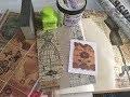 TEST-TUTO : Comment j'utilise le Papier de Riz STAMPERIA...Papier Tim HOLTZ...