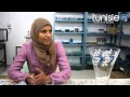 Tunisie.co : Atelier Katia Sayari pour la peinture sur verre