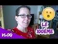 Vlog 100 - Blabla et mes palettes d'aquarelles