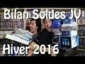 Double bilan soldes Jeux vidéo HIVER 2016