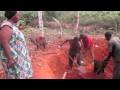 La fabrication des briques de terre à Ebadé (commune de Messaména au Cameroun)