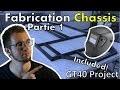 Fabrication d'un châssis de voiture de course PARTIE 1 ! [GT40 project #03]