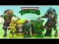 Pâte modeler Tortues Ninja Softee Dough Ninja Turtles PlayDoh TMNT