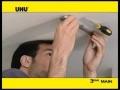 Coller sans percer: Patafix (UHU)