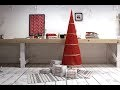 Comment coudre un sapin de Noël en tissu ?
