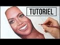 Comment dessiner un portrait réaliste au crayons de couleurs.