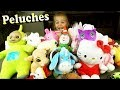 Peppa Pig, Winnie, Lapin Crétin, Hello Kitty, Bisounours, T'Choupi : Ellie donne ses peluches !